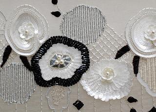 オートクチュール刺繍作品