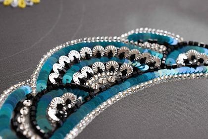 はじめてのリュネビル刺繍ネックレス