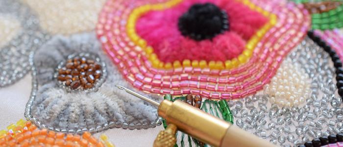 オートクチュール刺繍のレッスン