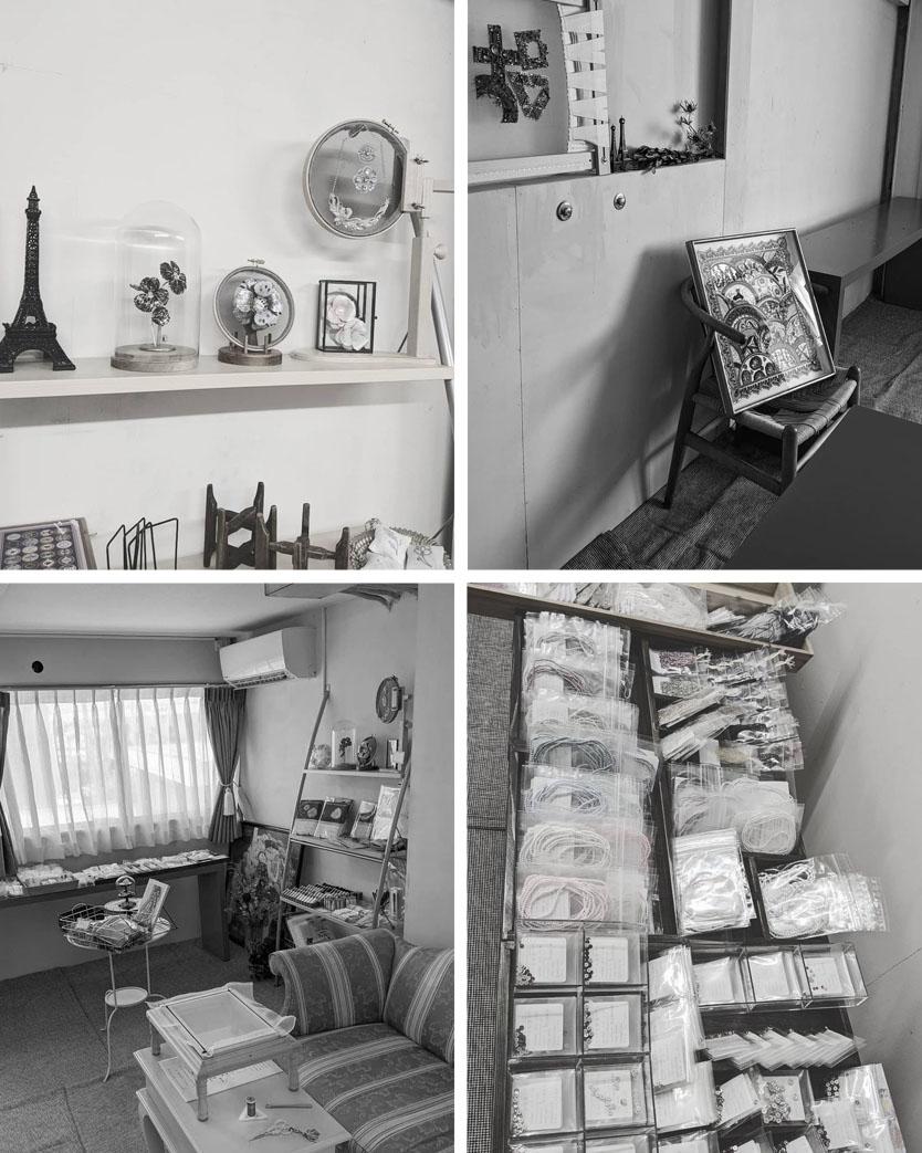 小さな手芸屋さんのイベント「隠れ家メルスリー」