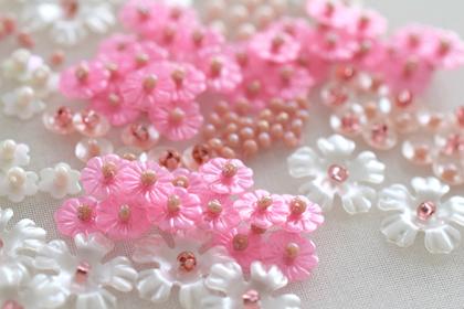 花のスパンコール