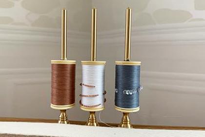 リュネビル刺繍用真鍮糸立て