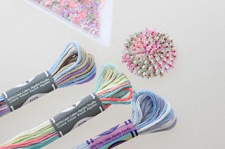 刺繍糸の提案