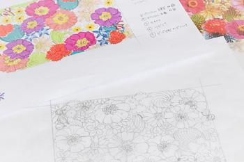 刺繍のデザインの仕方