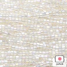 【お得なビーズ】六角特小 オーロラクリスタル【5m】