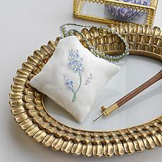 キット リュネビル刺繍 ラベンダーの香り袋