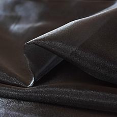【オートクチュール刺繍用生地】ポリエステルオーガンジー 黒